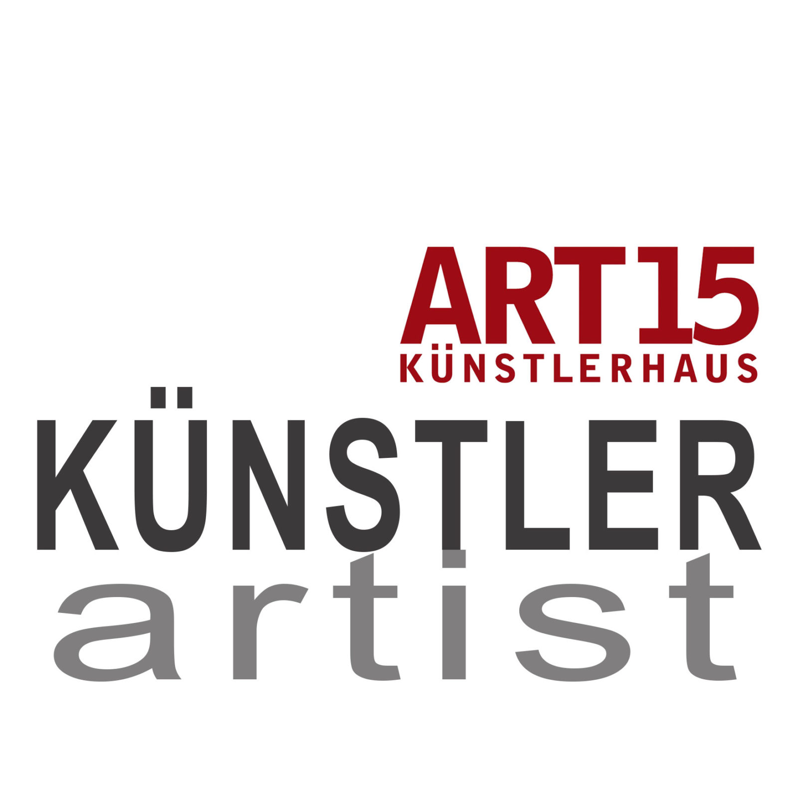 ROSMARIE HACKMANN - ART15 KÜNSTLERHAUS ART15 LOGO WORDS 1