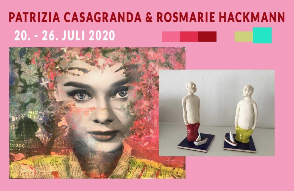 Ute Bescht & Irmgard Kaduk Kunstausstellung